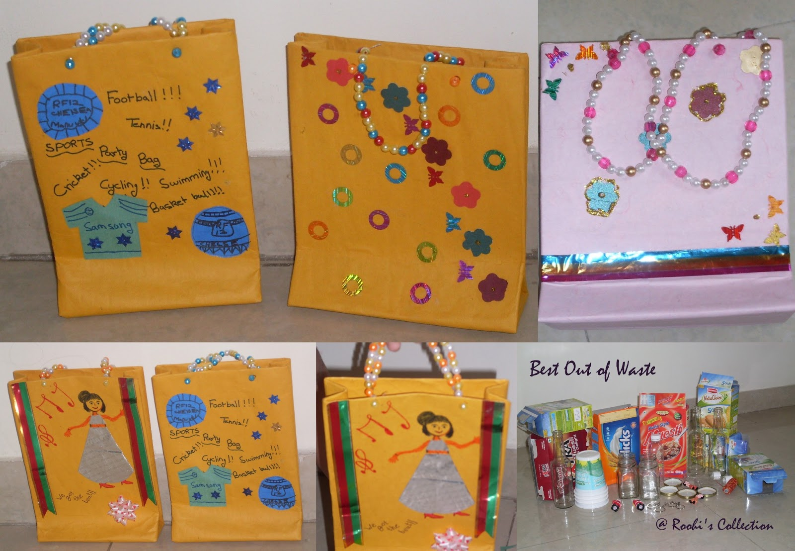 Activity 1 Gift Bags