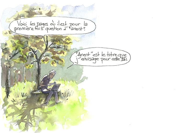 Bande dessinée sur les Jivaros Achuar, Anent