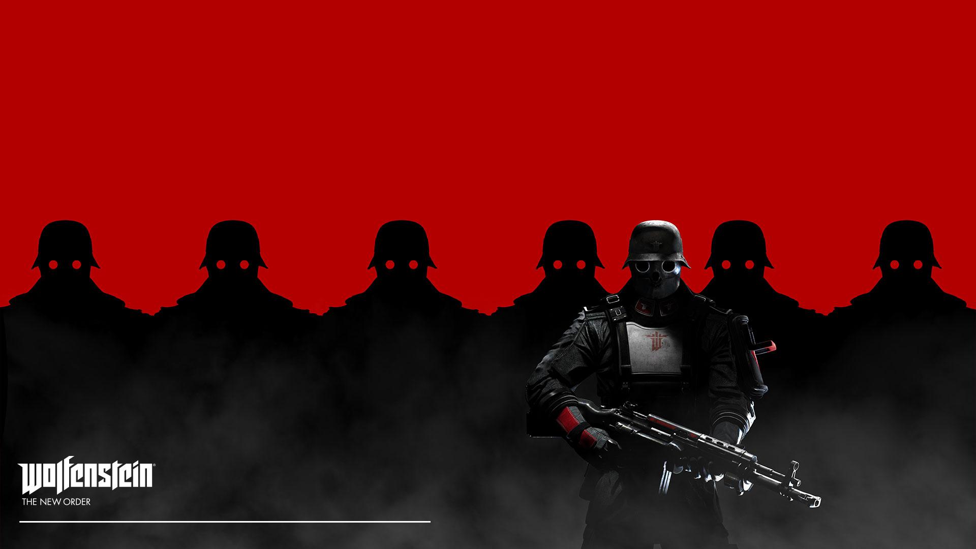 Black Soldier Wolfenstein The New Order Game