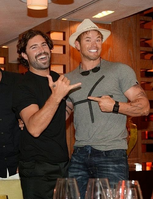 The sponsored also attracted Kellan Lutz and Brody Jenner to join the party.