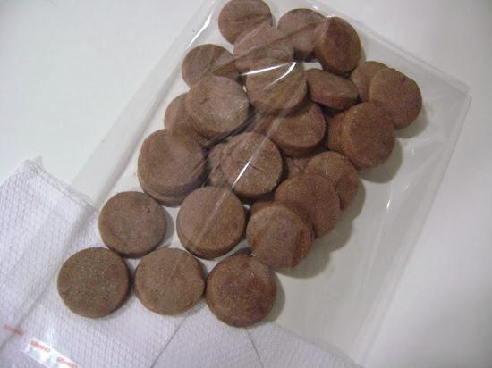 saquinhos com 500 gramas