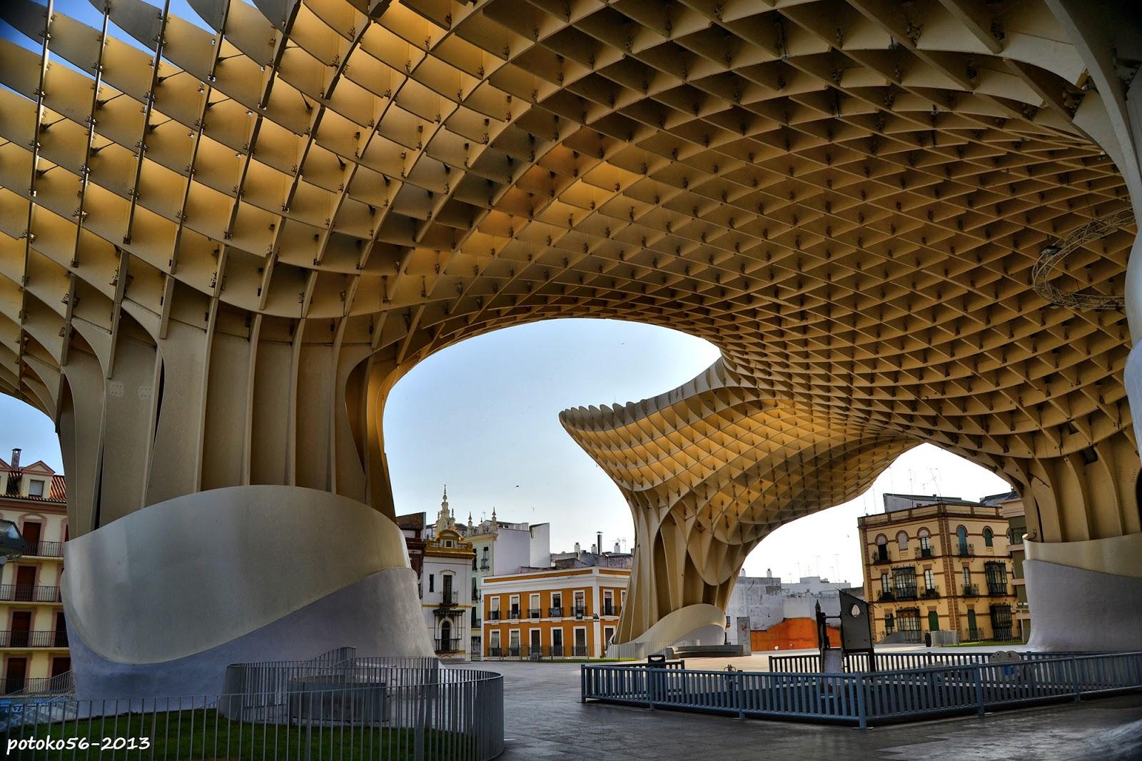 Metropol Parasol de la Encarnación Sevilla
