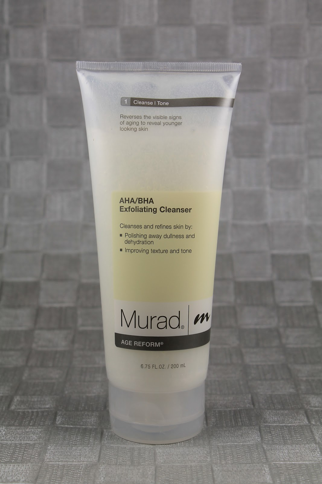 Shine murad aha bha exfoliating cleanser beauty glycolic lactic