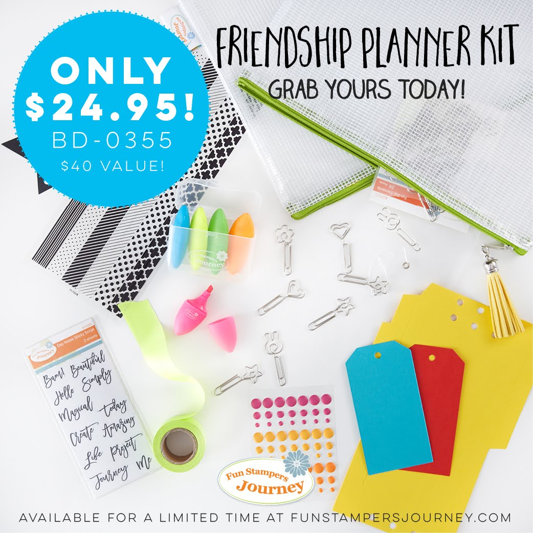 Friendship Planner Kit