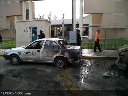 Explota Coche Bomba en Nuevo Laredo, Mexico