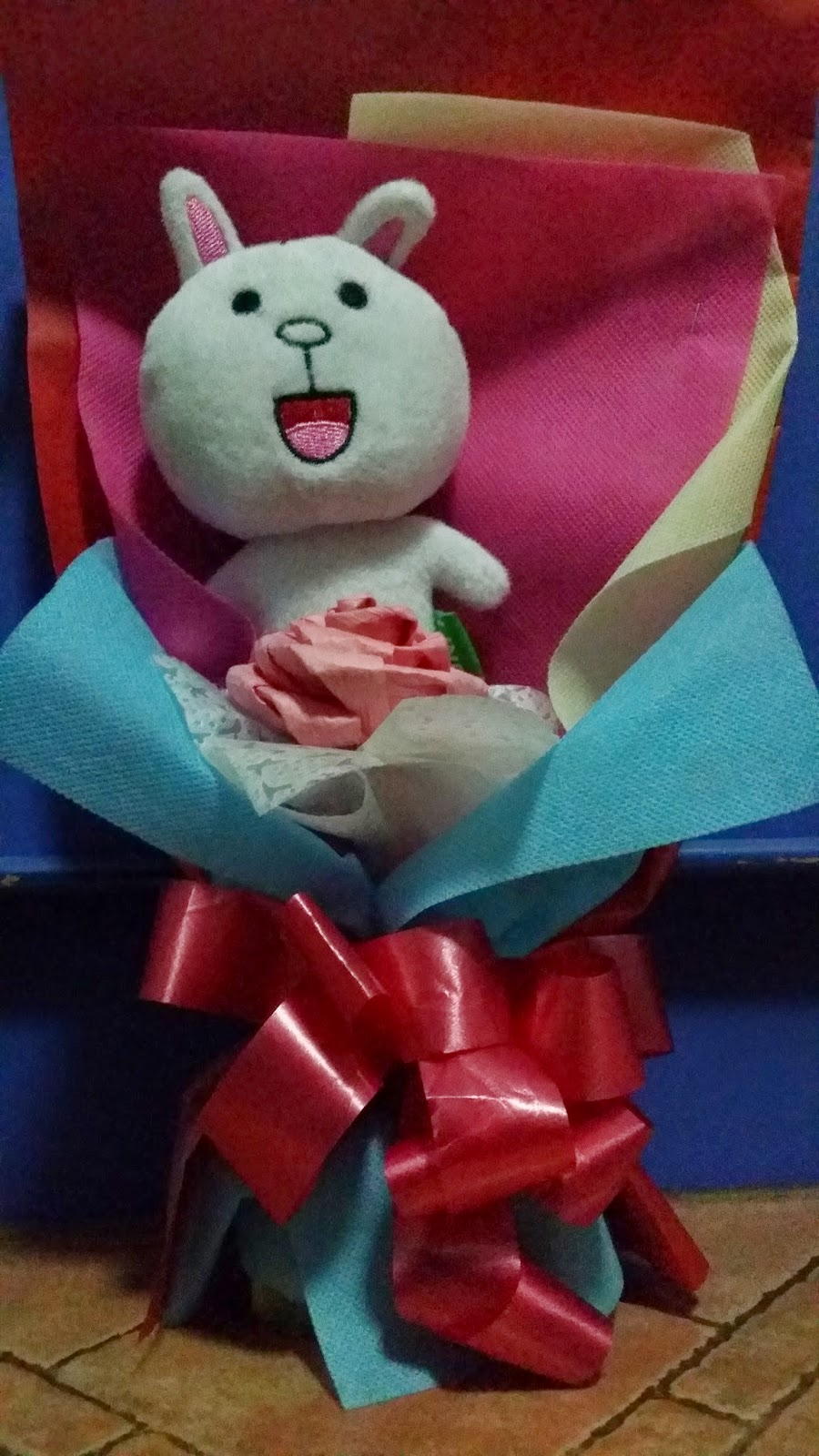 Just a man who truly loves his woman and her him back nothing my dear bought me a cony bouquet for the longest time i have been wanting to have a cony and brown soft toy and to be honest i didnt think id negle Choice Image