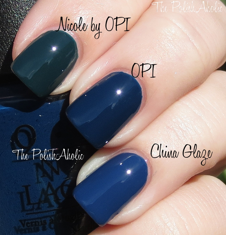 Opi Nail Polish Vs China Glaze - Creative Touch