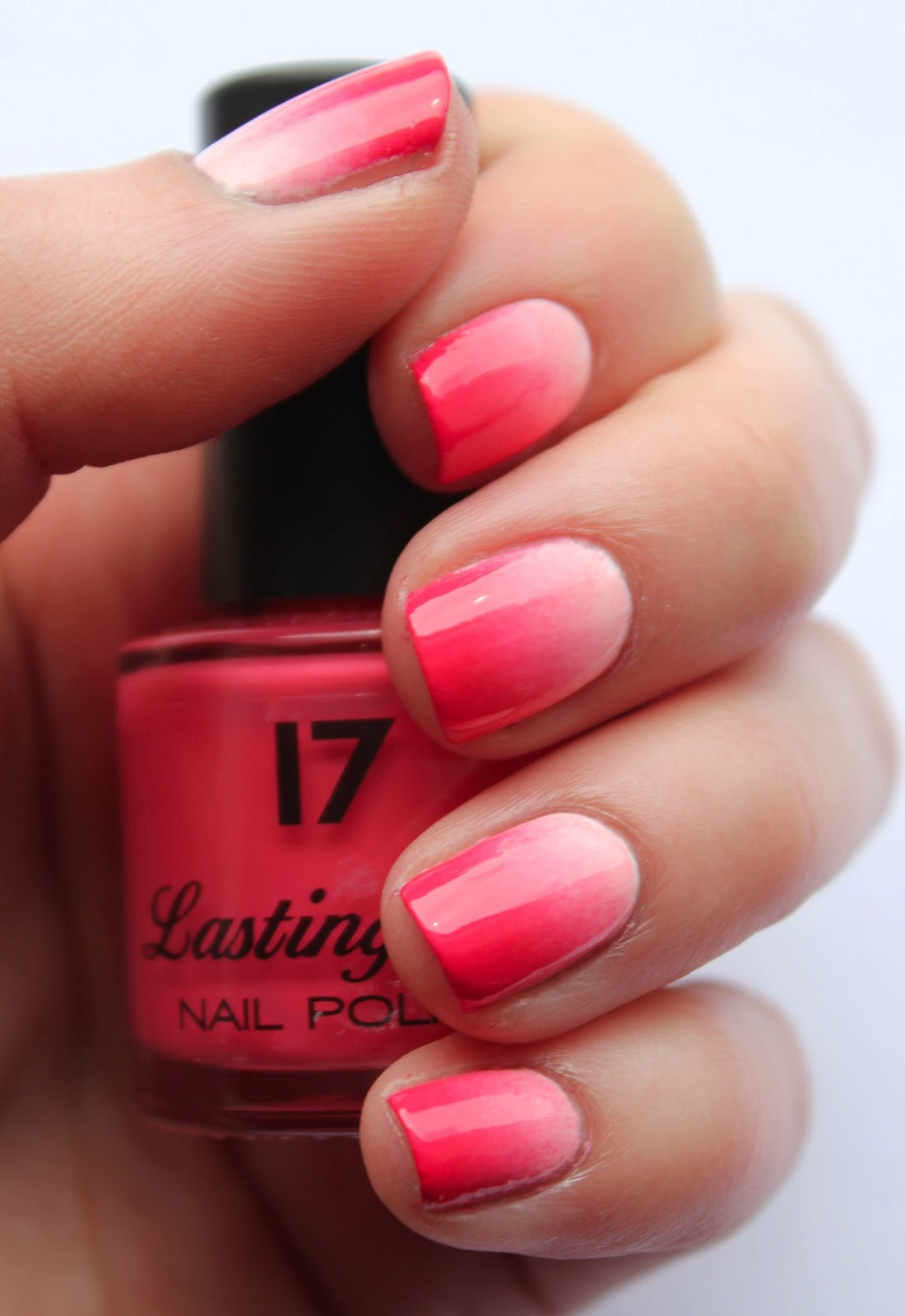 Fundamentally Flawless Tutorial Coral Gradient Nails