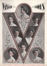 Turn of the century Vassar University Girls yearbook photo