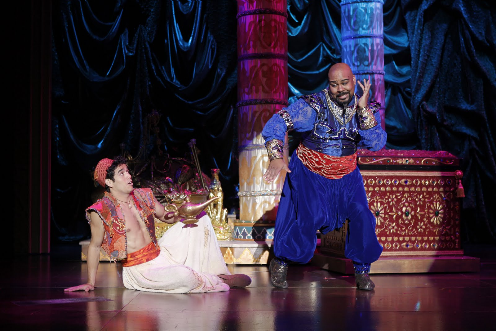 Broadway Etc Disney Works Its Magic Again