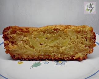Bizcocho de Manzana Fácil, Receta Vegana.