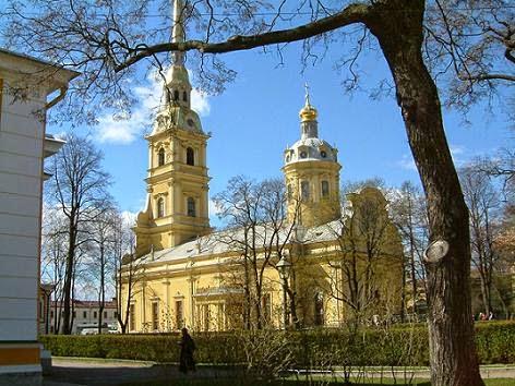 Catedral de Pedro y Pablo de San Petersburgo