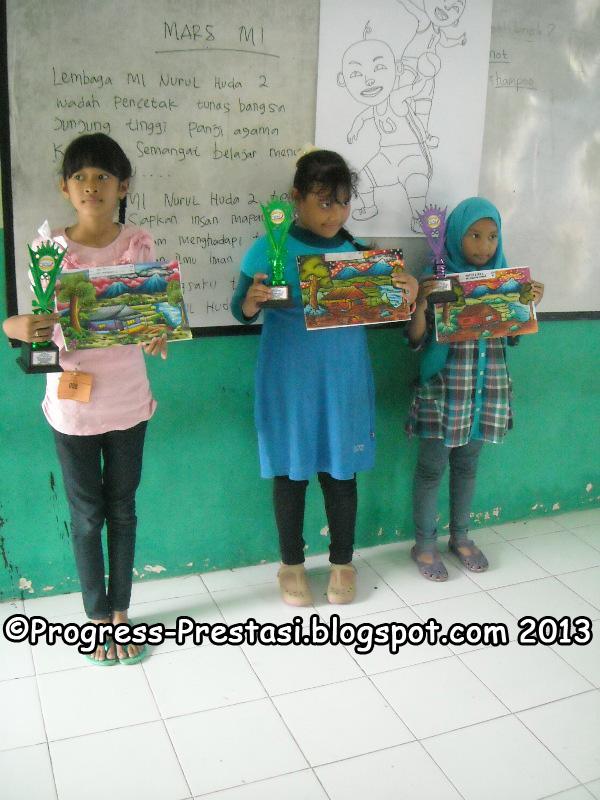 Juara Lomba Mewarnai Kategori SD/MI Kelas 4-6 Pesta Anak Kreatif