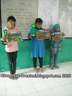 Juara Lomba Mewarnai Kategori SD/MI Kelas 4-6 Pesta Anak Kreatif Progress Prestasi Mojokerto