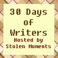 30 Days of Writers: J. F. Jenkins