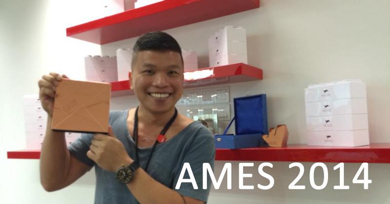 Vince LowさんがAMES2014のMedia Strategy部門でブロンズをゲットした!おめでとう!