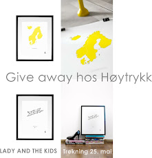 Bli med på give away!