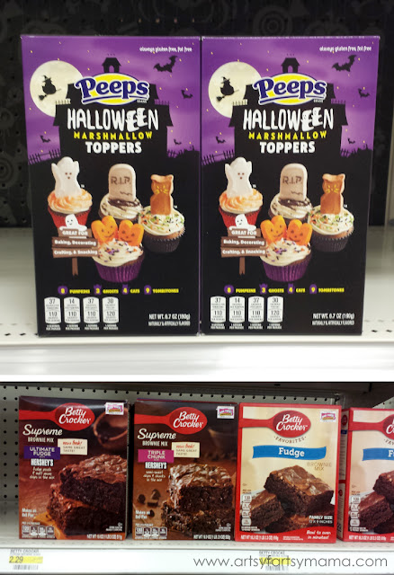 Get your Betty Crocker™ Supreme Brownie Mixes and Halloween PEEPS® multipacks at Target