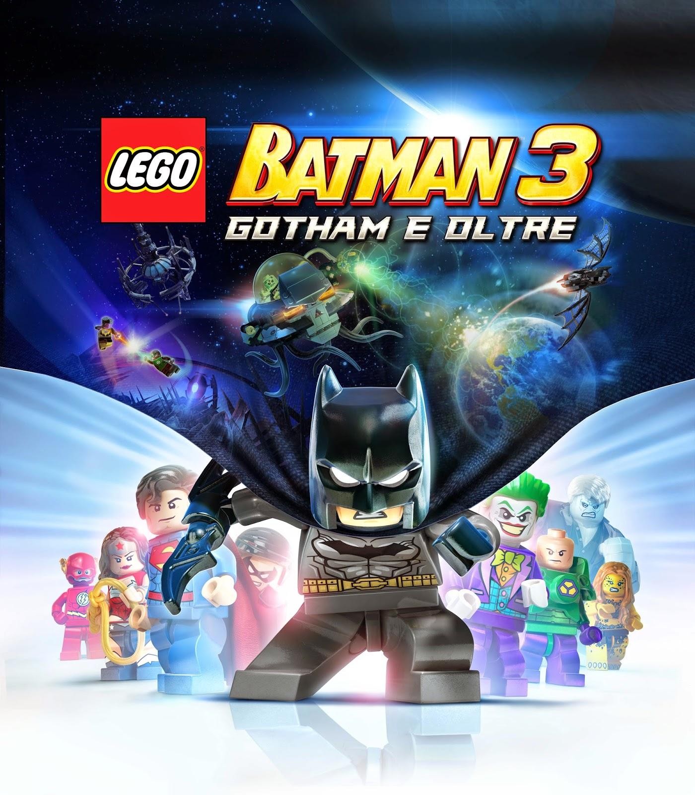 LEGO BATMAN 3: GOTHAM E OLTRE, RECENSIONE DEL VIDEOGIOCO DEDICATO AL CAVALIERE OSCURO