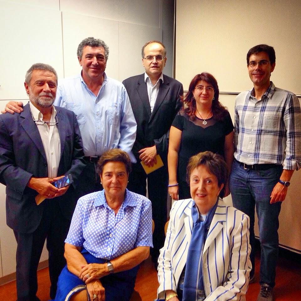Foto d'alguns membres de la Junta