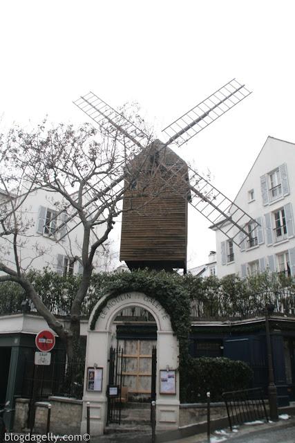 Moulin de la Galette em Montmartre, Paris