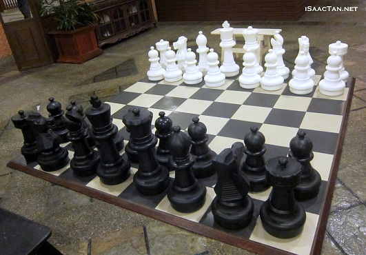 Hotel Chess Game