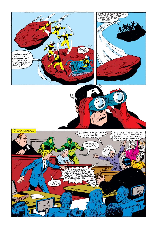 Captain America (1968) Issue #346 #276 - English 17