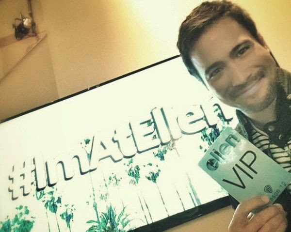 Spotted: Sam Milby was at Ellen too