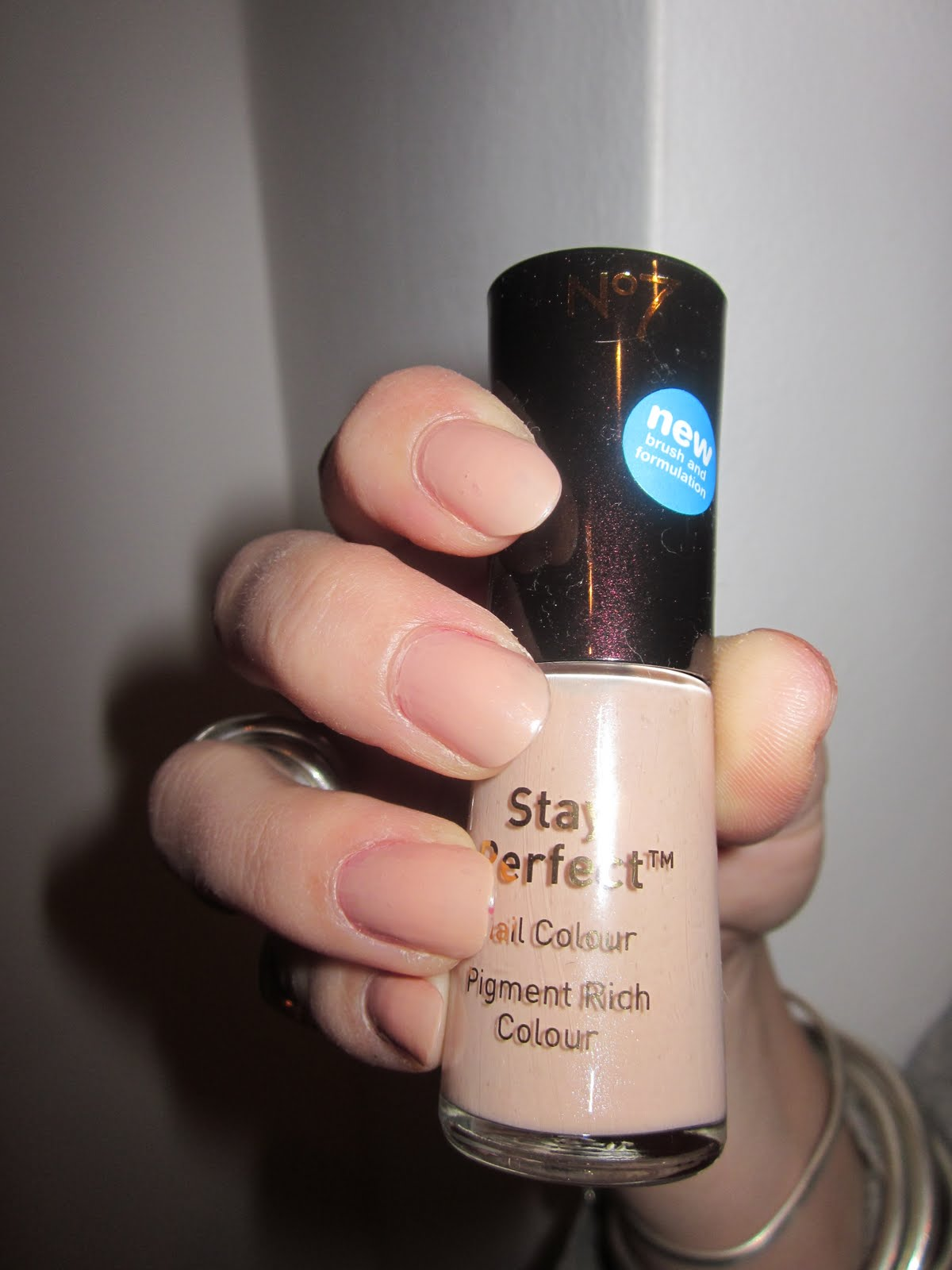 No 7 Stay Perfect Nail Varnish in So Simple | London Make-up Blog
