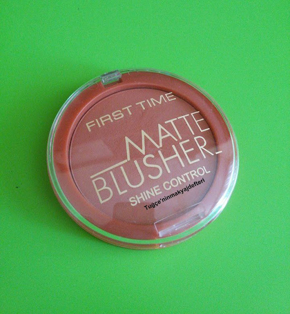 First Time Matte Blusher