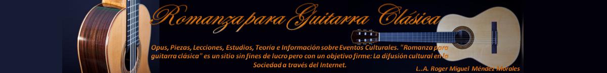 Romanza para Guitarra Clásica (Biblioteca Musical)