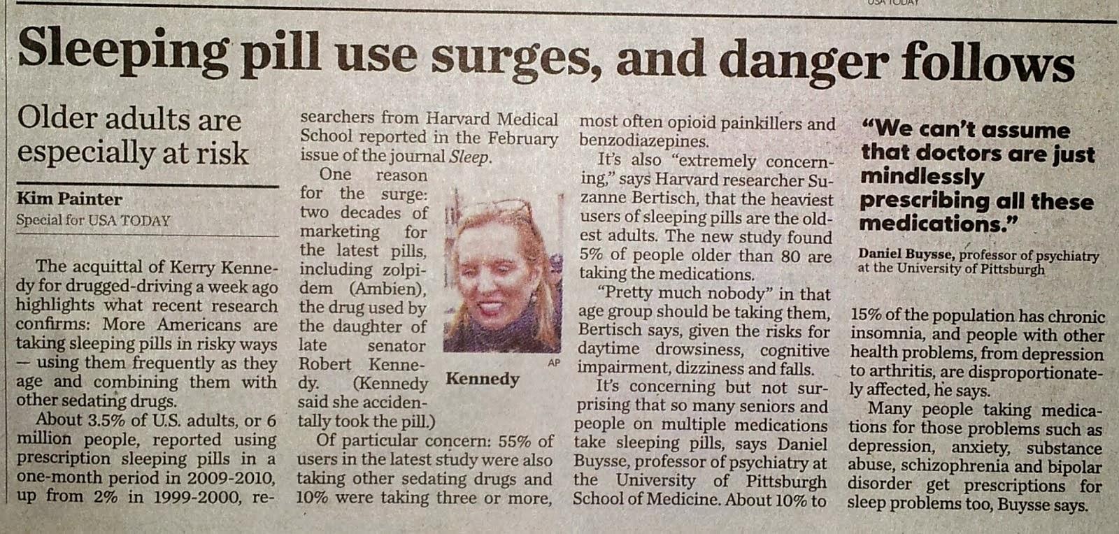 Las pastillas para dormir causan mareos.
