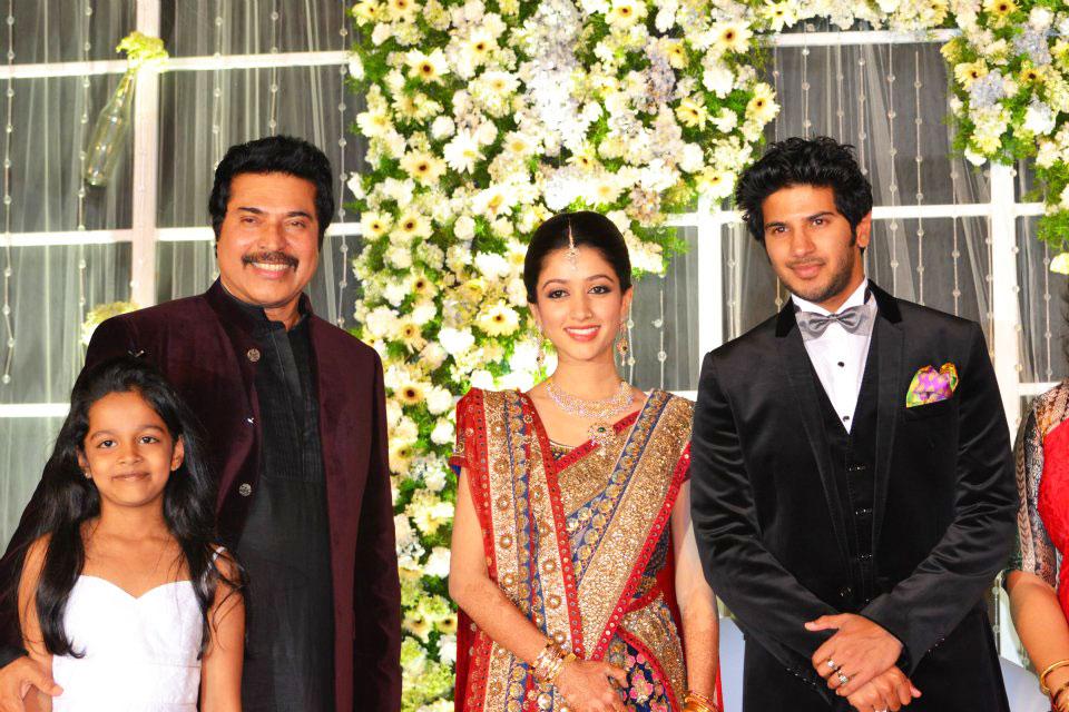 Dulquar Salman Marriage Reception Photos