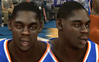 NBA 2K13 Mods - Ronnie Brewer Cyber Face Patch