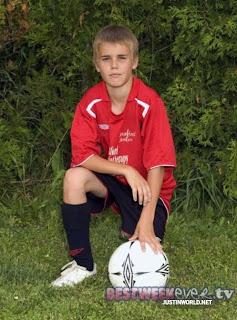 justin bieber soccer kid