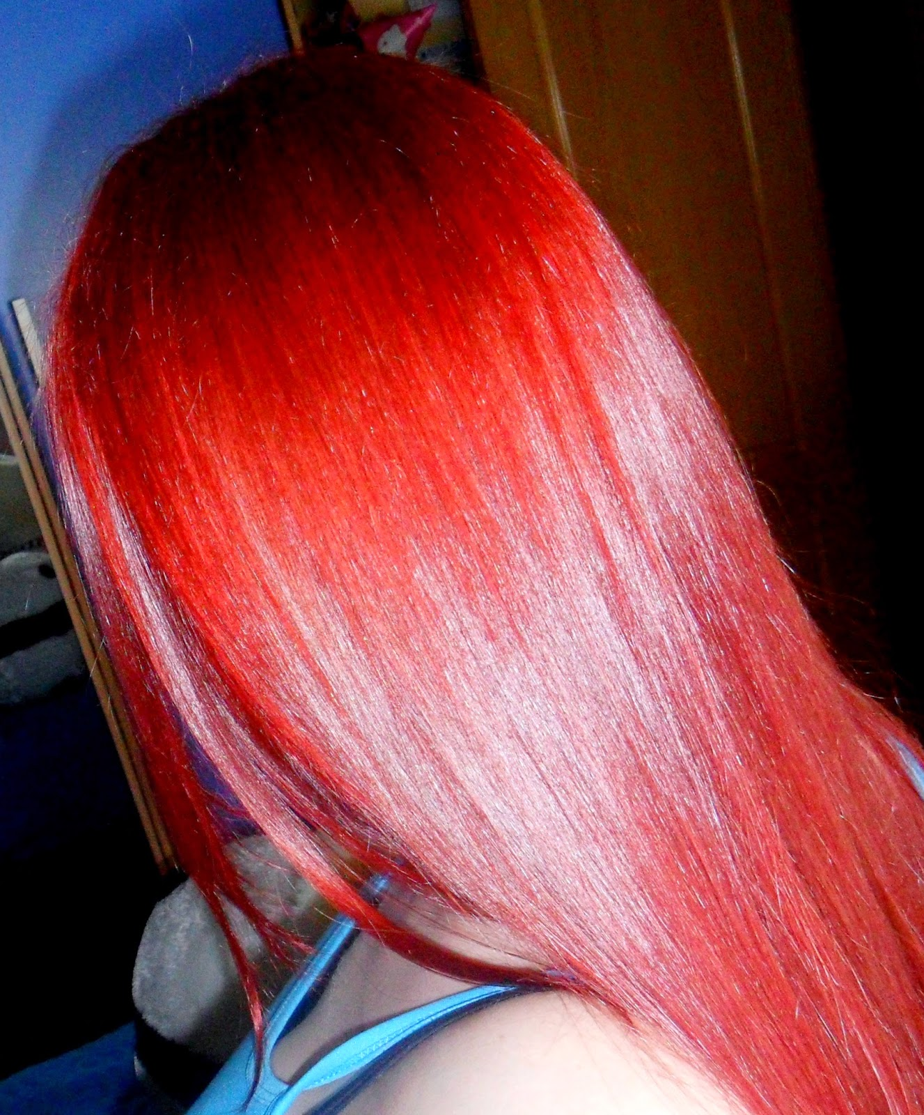 crazy color pelo rojo fire