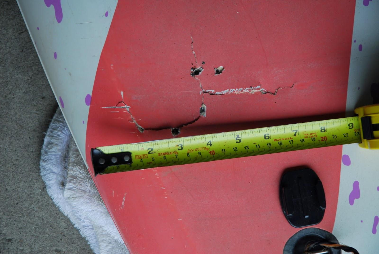 Average Joe Windsurfing Blog Fanatic Ultra Cat Repair