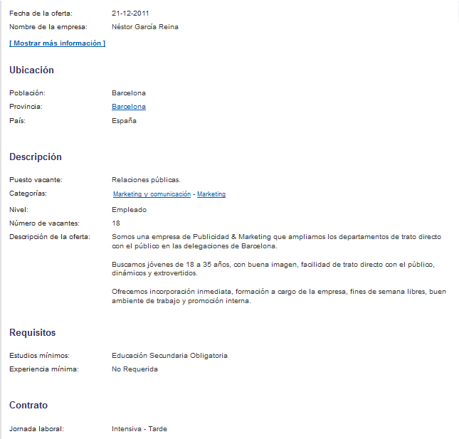 CASO Securitas Direct (febrero 2012) | Recursos INhumanos