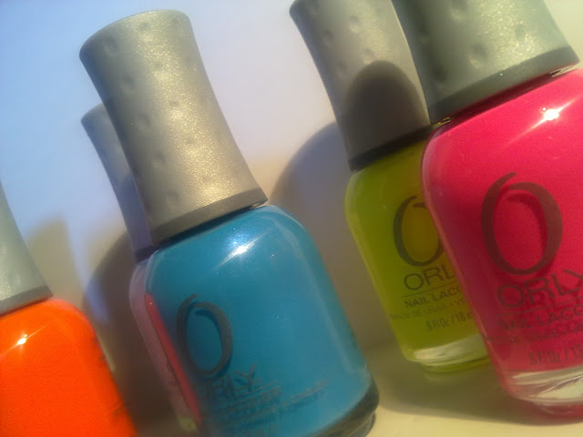 packaging smalti orly fluo feel the vibe