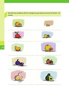 Apoyo Primaria Español 2do grado Bloque 4 lección 3 Las palabras y su escritura