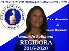 Leonarda Balbuena REGIDORA - PRM