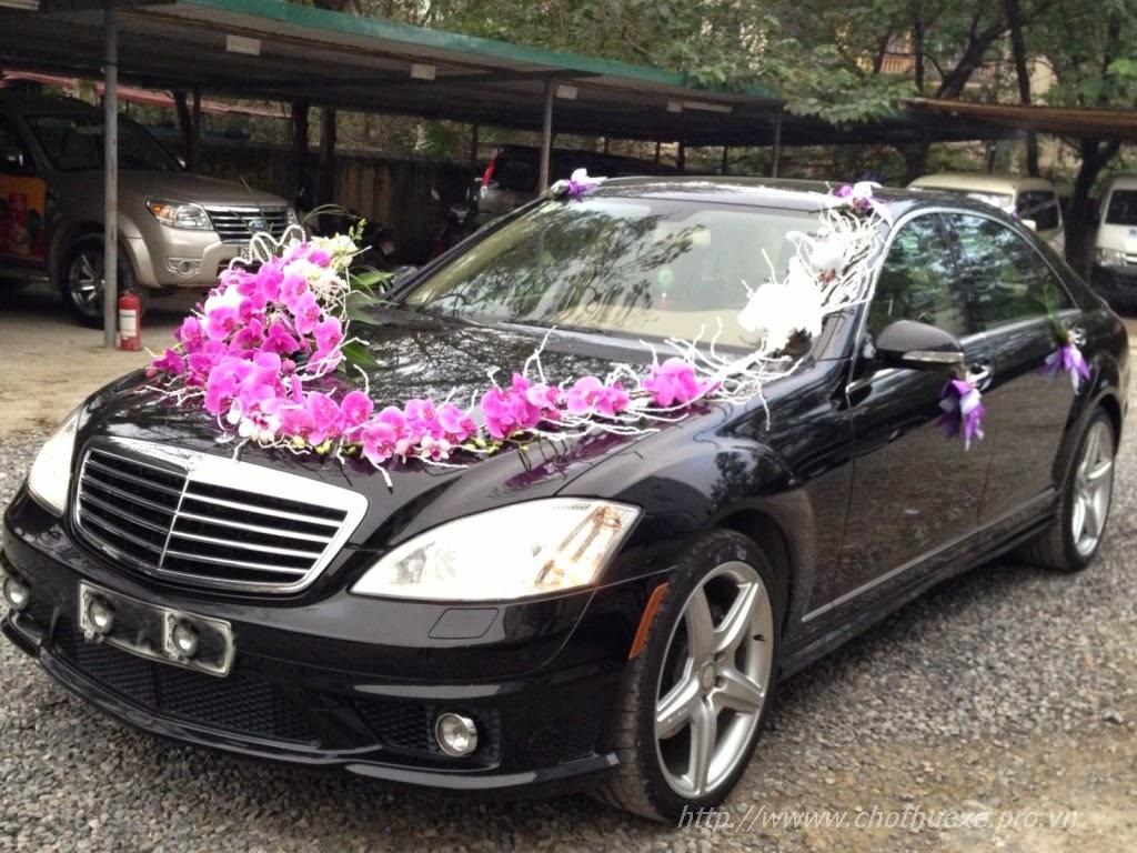 Cho thuê xe cưới mercedes S550