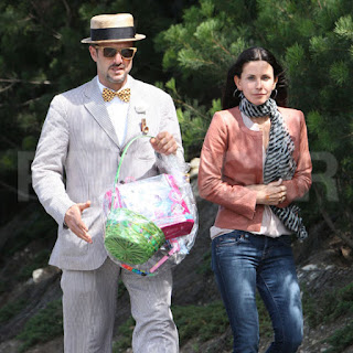 Celebrity Easter with David Arquette & Courtney Cox