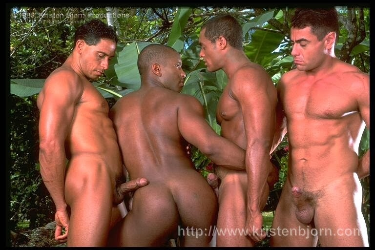 machos fudendo na floresta