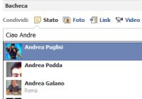 taggare amici Facebook