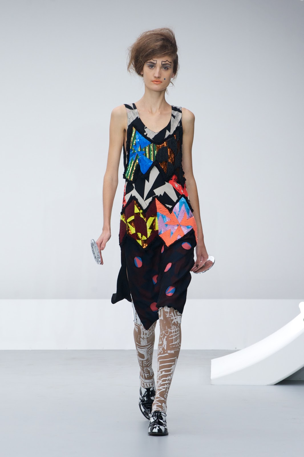 Frumpy To Funky Louise Gray Spring Summer 2013 Collection