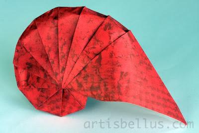 Origami Spirals - Nautilus
