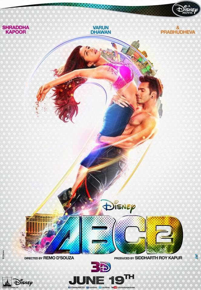 ABCD 2 Official Poster HD Shraddha kapoor varun dhawan latest new movie poster
