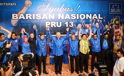 BN Terajui Malaysia Untuk Lima Tahun Lagi