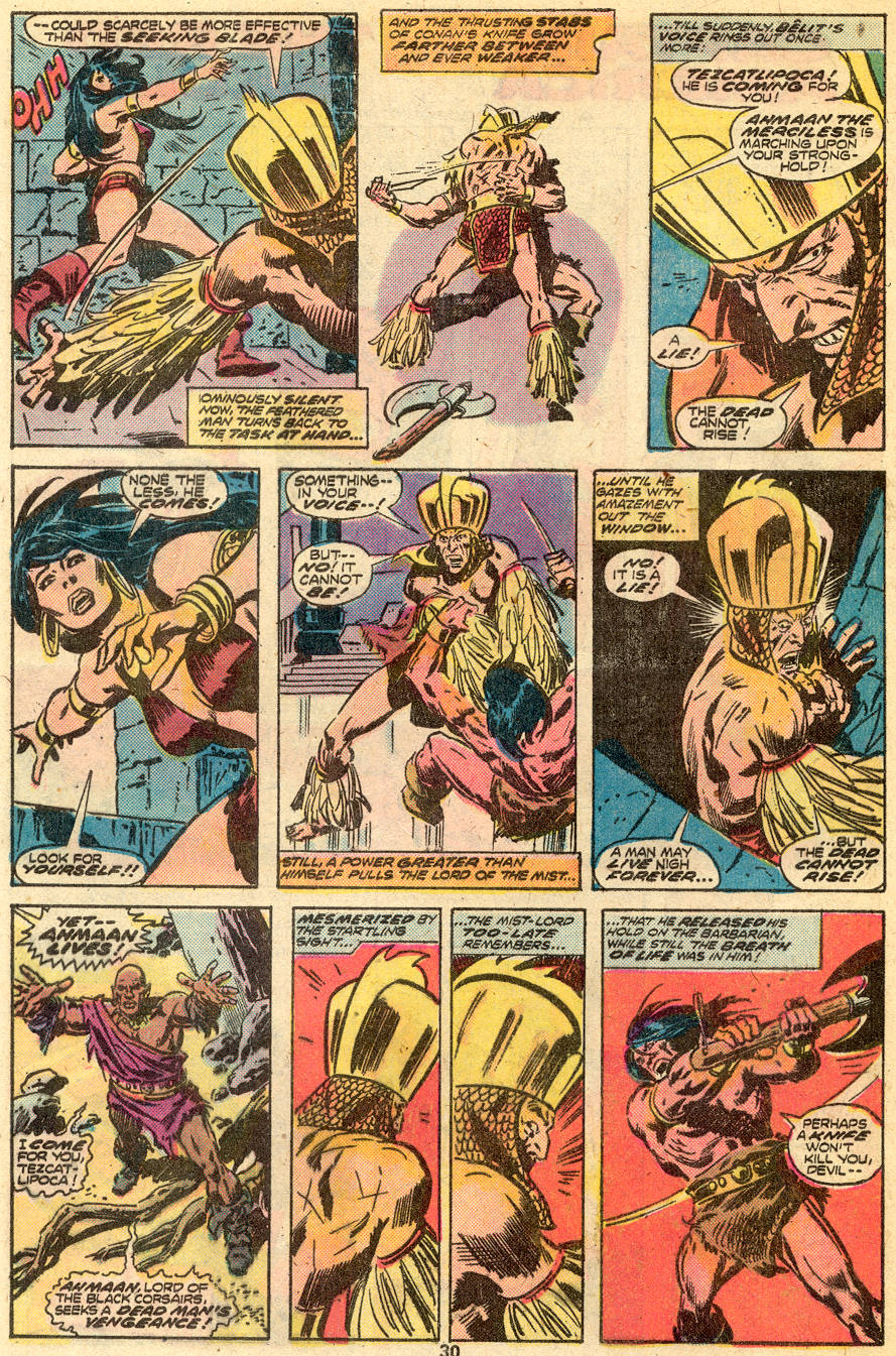 Conan the Barbarian (1970) Issue #65 #77 - English 17